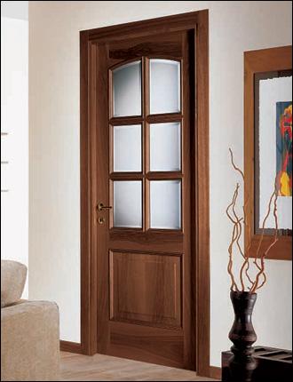 Porte in legno classic style sicur serramenti - Porte classiche per interni ...